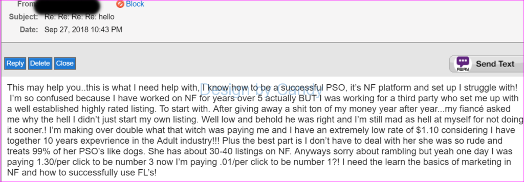 pleasure playpen rip off scammers rude phone sex owners